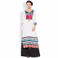 Stylish Charming Designer Party wear Long Kurtas Dress