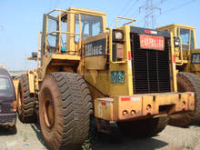 Used Wheel Loader Engine Power 194hp 966E