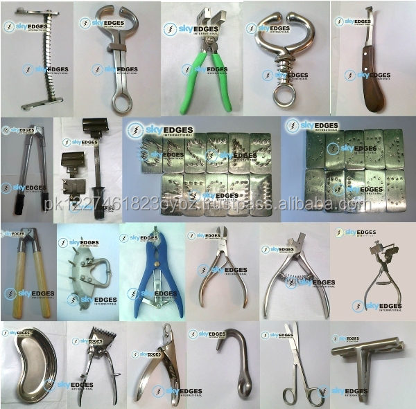 Complete Range of Veterinary Instruments Animal Hospitals Live Stock Cow Farms