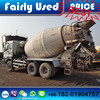 For sale right hand drive 6WF1 engine used Isuzu concrete mixer of 6x4 isuzu mixer 8cbm-10cbm