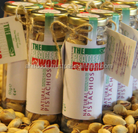 Natural Roasted, Salted & Saffron coated Pistachios