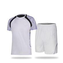 2016 New style blank soocer uniforms customized adult men's short sleeve soccer jersey young soccer suit men soccer uniforms