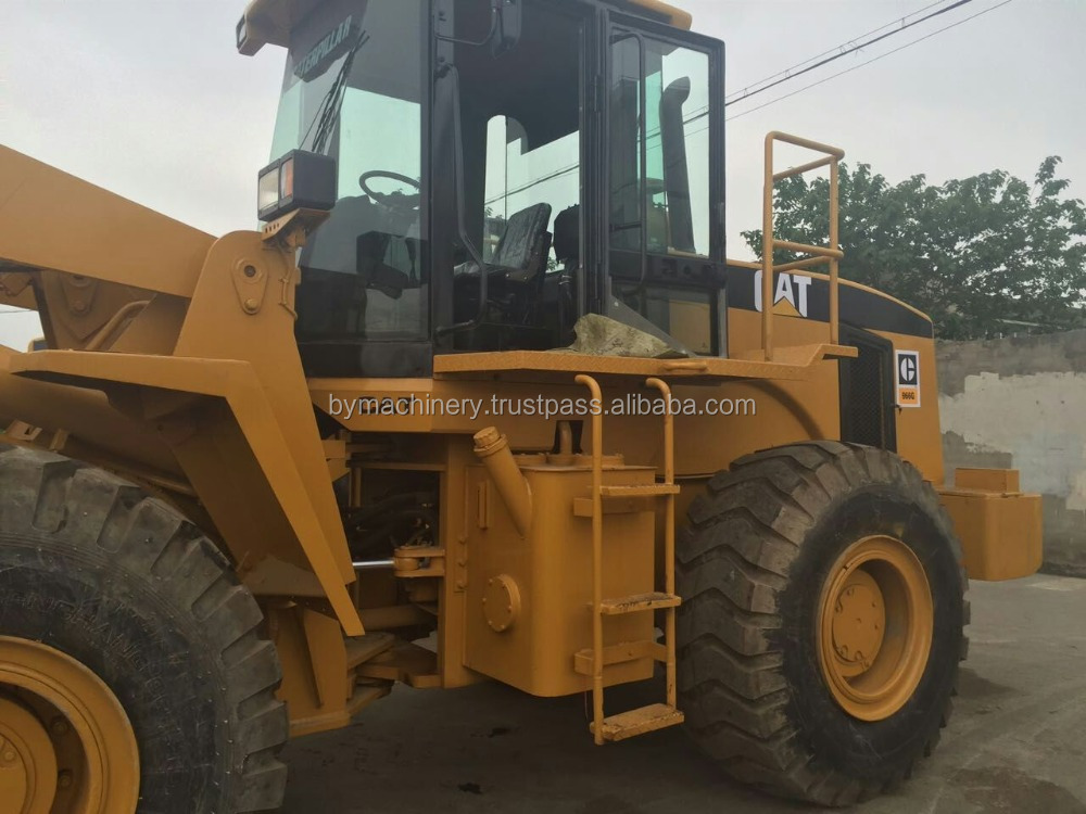 High Quality Machine Used CAT Used 966G Wheel Loader / Caterpillar Machine/Also Used CAT 966,910,936,950