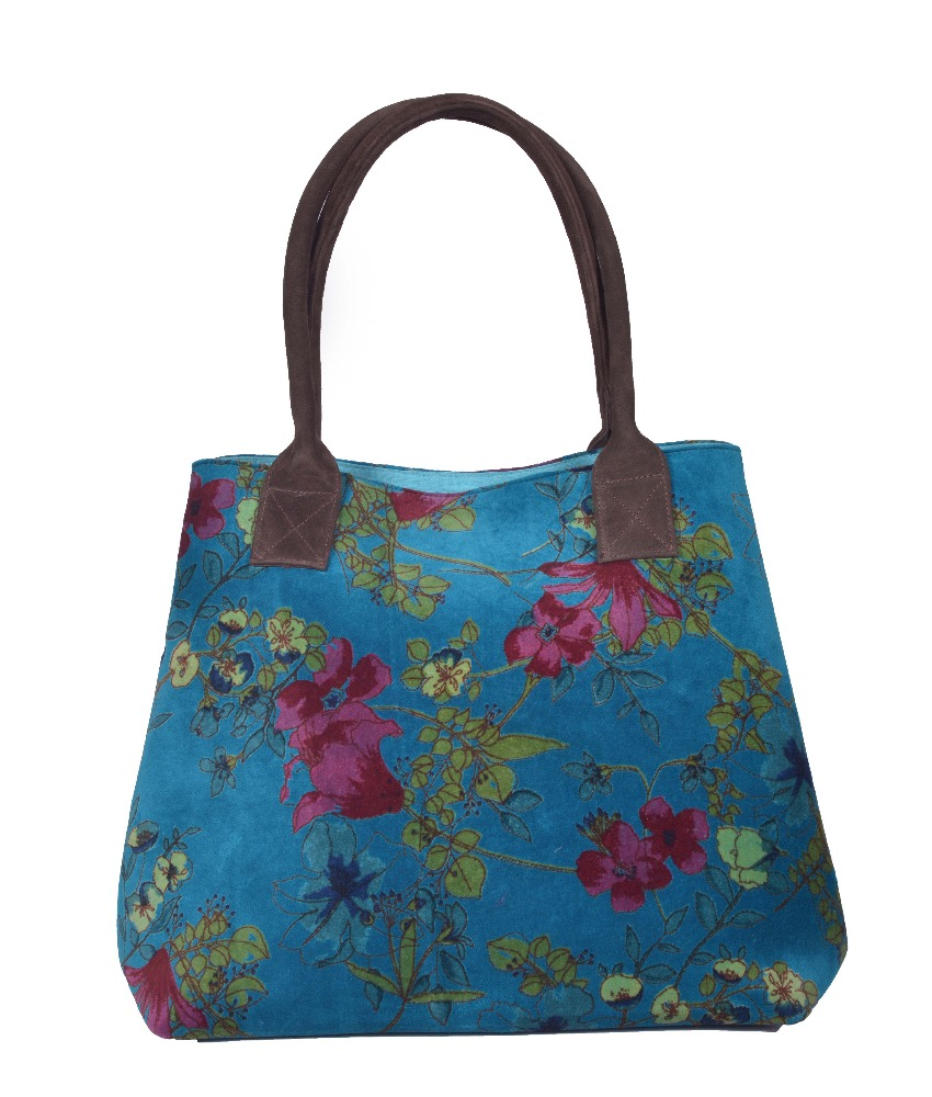 FLORAL COTTON MADE BOHEMIAN LEATHER HANDEL GYPSY SHOULDER BOHO BAG