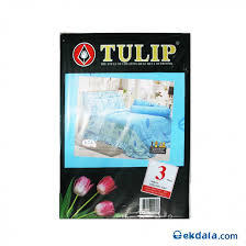BED SHEET TULIP THAILAND INGLE BED ET GOOD QUALITY