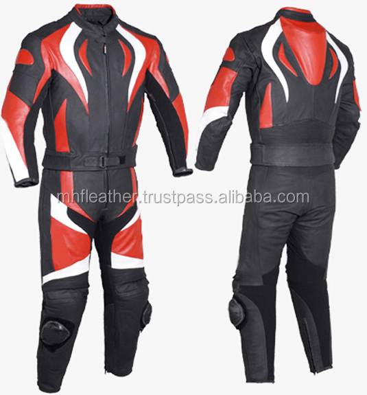 New Motorbike/Motorcycle Racing Leather Suit 614