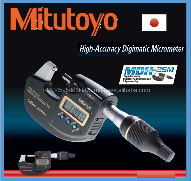 High quality fine pitch micrometer haeds Mitutoyo micrometer for innovative 0.0001mm resolution