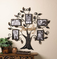 Iron Family Tree Photo Frame