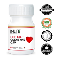 Omega 3 Fish Oil Capsules with Coenzyme Q10 in Liquid Filled Hard Gelatin Capsule GMP Certified