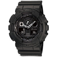 Casio GA-100 series Resin Band Digital Watch