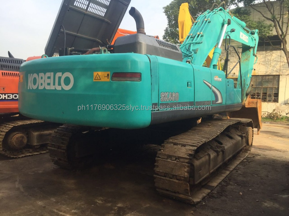 Kobelco Sk460 crawler excavator used condition kobelc sk460 excavator with hydraulic engine for sale