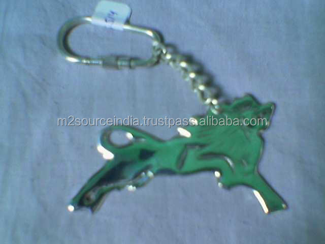 Promotional gold latest stainless steel luxury key chains