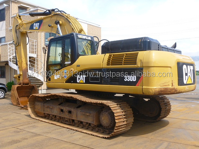 New Excavator Caterpillar Price, Japan CAT 330D Excavator for sale