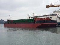 3400HP PUSHER & 9000DWT BARGE FOR SALE(SDM-BT-140)