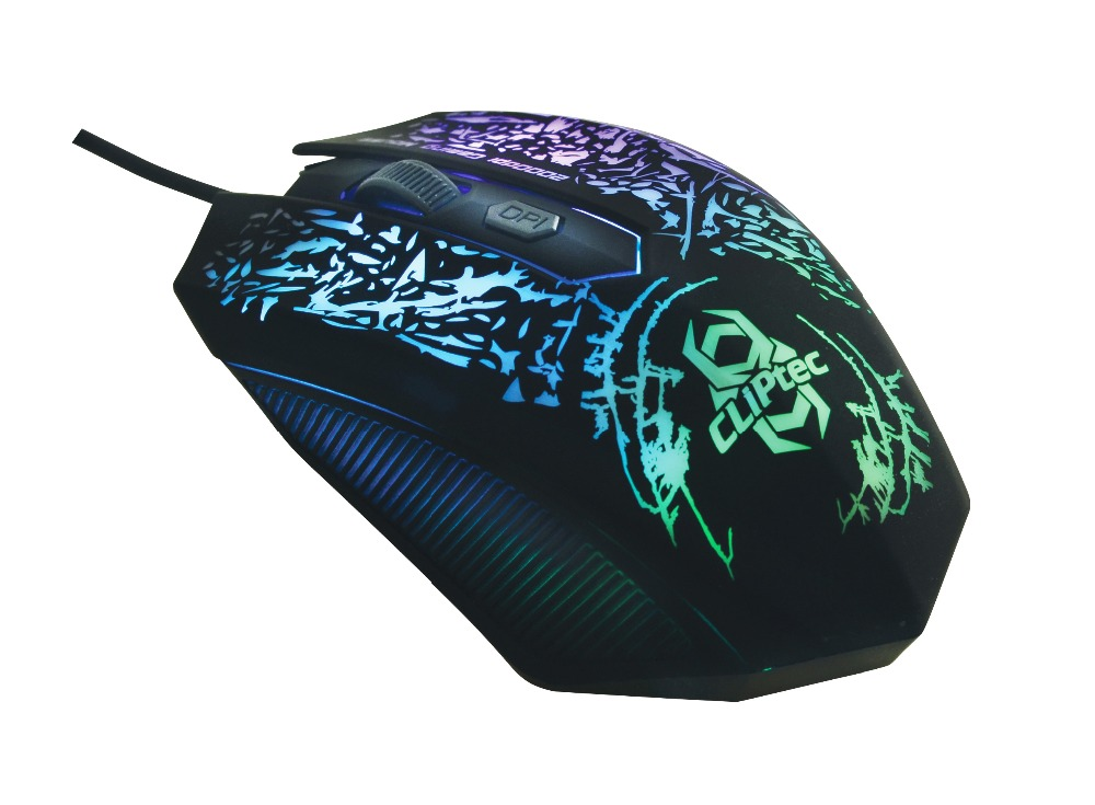 STORM 2400dpi Illuminated Gaming Mouse - Retail Pack