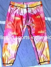 made sublimation capris, fitness lycra yoga pants, skinny sports leggings, dri fit gym wear, sexy belly dan Paypal Accept