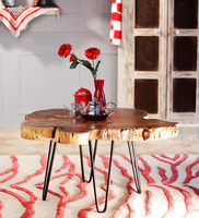Coffee Table in Natural Finish and beautiful for home and office decoration.