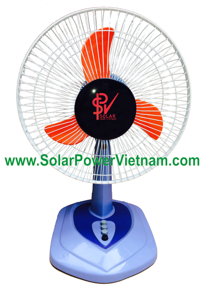 Home appliance 12v dc table fan dc motor solar powered - Solar Power Vietnam