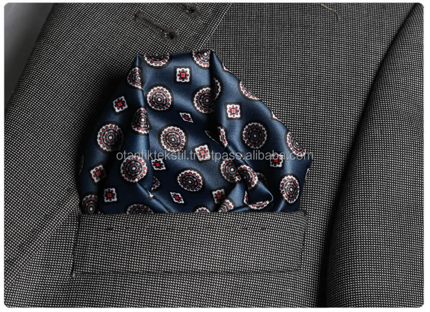 Dark Blue, Circle, Pocket squar, Hankercheif,