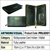 Phillippe Reono Fully Leather Multipurpode Card Holder / Fully leather wallet