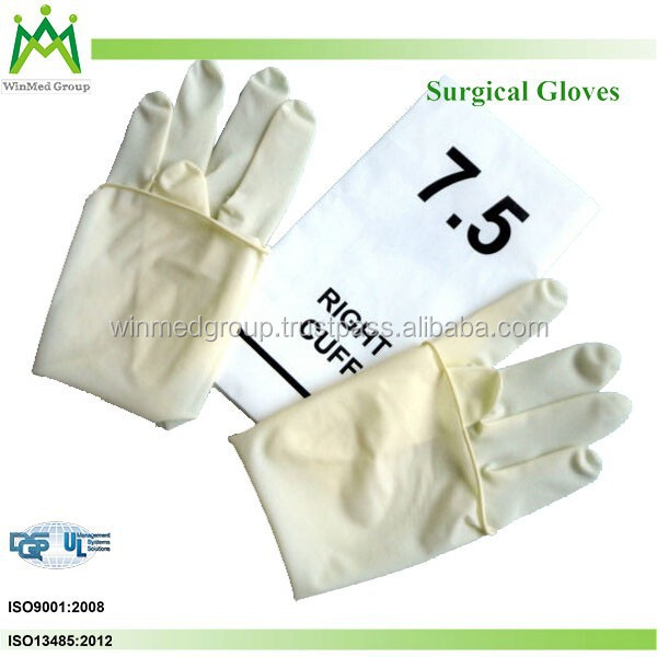 klang wholesale medical consumable 12 inch powdered surgical latex gloves