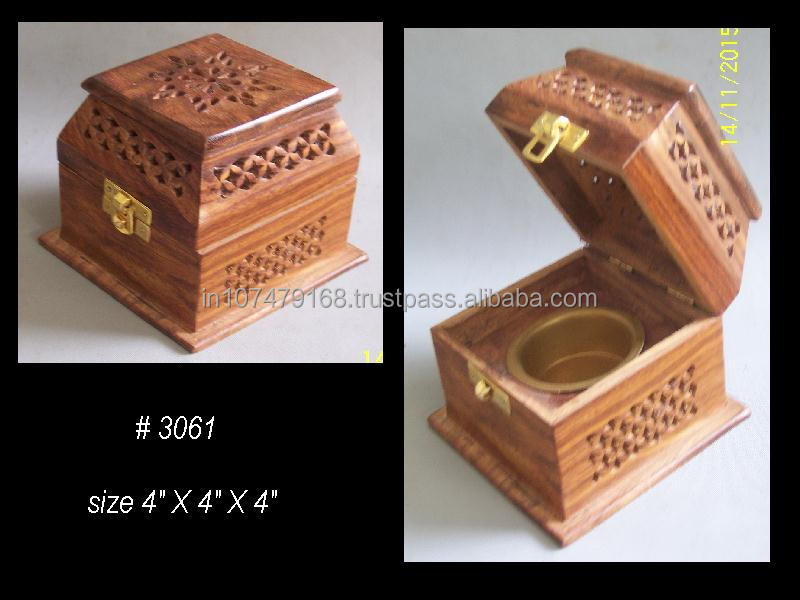Wooden Incense Resin burner