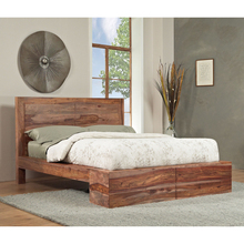 Sheesham Sold Wood Bed