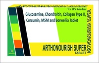 Glucosamine, Chondroitin, Collagen Type II, Curcumin, MSM and Boswellia Tablet