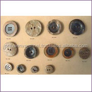 factory wholesale custom made suit real horn button