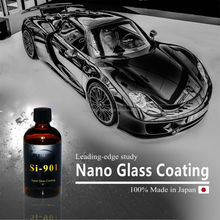 Quick and easy apply KISHO car paint protection coating made in Japan
