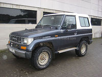 USED CARS - TOYOTA LAND CRUISER LJ 70 4X4 SPECIAL PICK UP (LHD 7541)