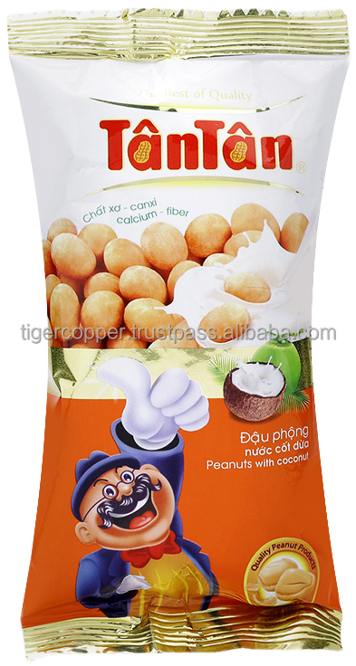 TAN TAN ROASTED PEANUTS WITH COCONUT JUICE PACK 40G