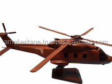 Aircraft Wooden Model - NH90 Model Helicopter