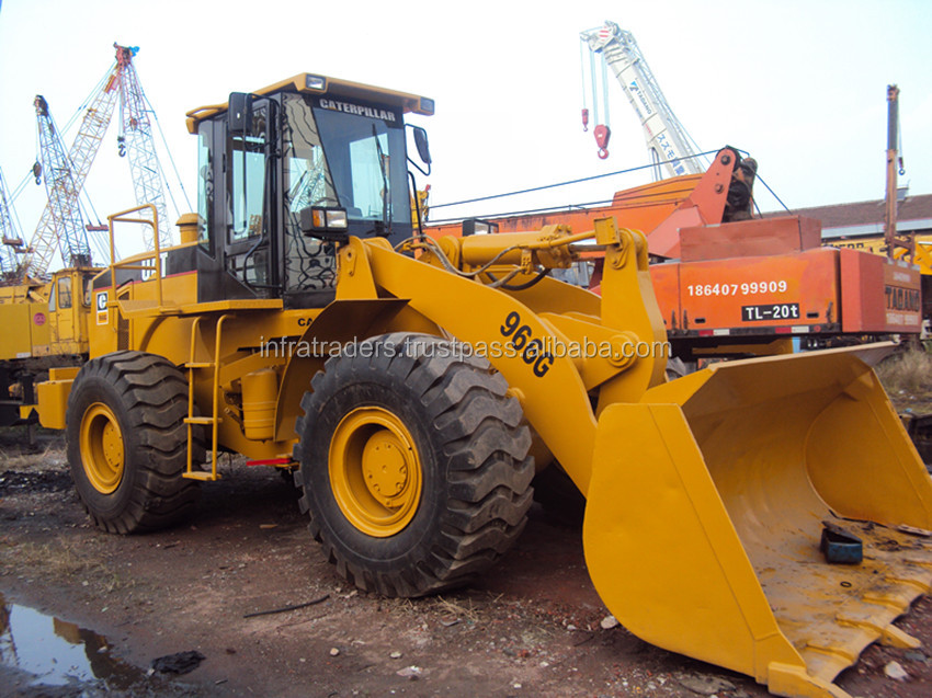 Original wheel loader CAT966G for sale Good condition machine,Japan original