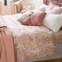 200TC Poly/Cotton Bedding Set For Classic 5-piece Luxury Modern Feather Aisadi Home Textile