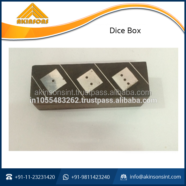 Attractive Design Wooden Dice box for Antique Collection
