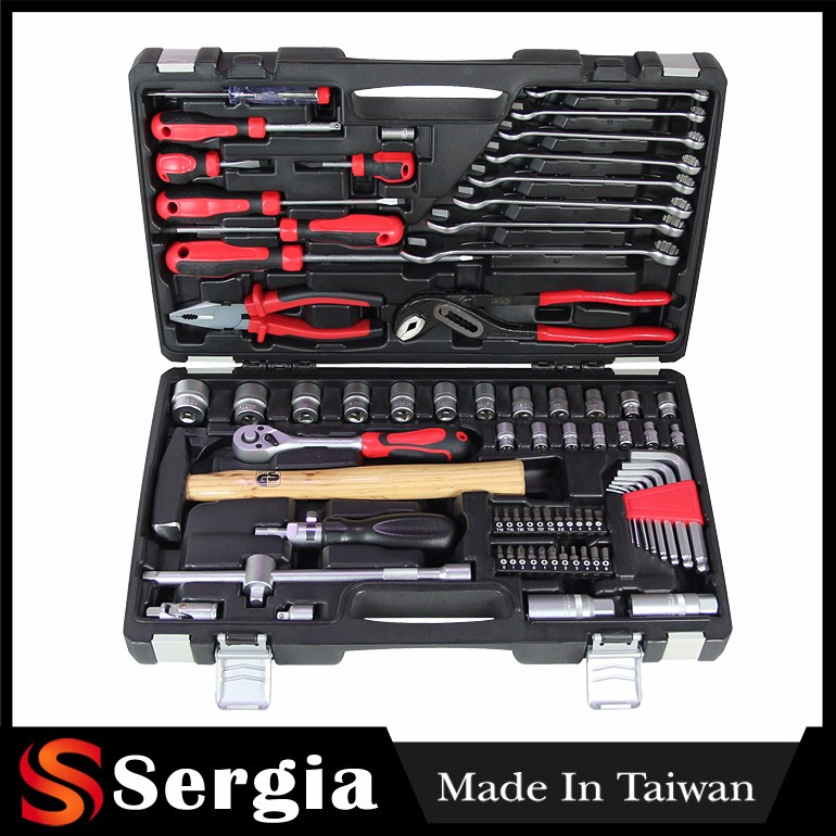 German Made In Taiwan Products 76 Pcs 3/8 Inch Dr Complete Socket Set