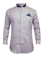 Light Purple Party Wear Shirt