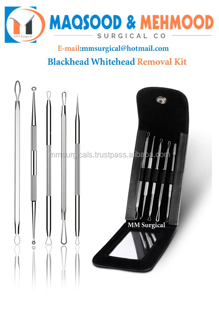 MM surgical blackhead remover with 3x Zoom Flat Mirror