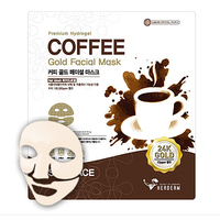 Coffee Gold Facial Mask