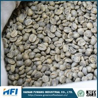 green coffee beans wholesale Yunnan China type