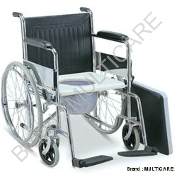 Folding Wheel Chair With Commode