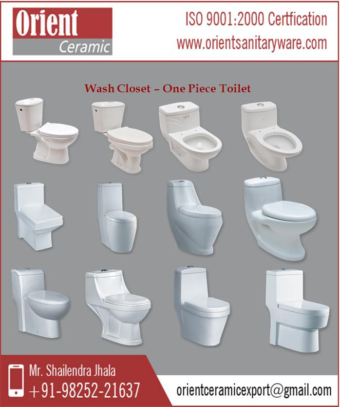 Durability and Strong Structure One Piece Toilet Manufacturer/Supplier/Exporter