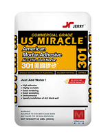 301 American mortar adhesive (ALC Thin Joint Mortar)
