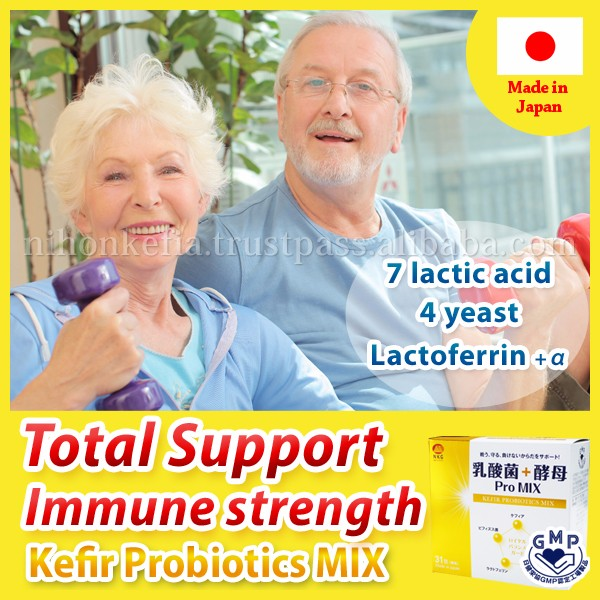 Healthy and Nutritious colon cleanser ( Probiotics Supplement ) with Lactic Acid + Yeast for intestinal flora , made in Japan
