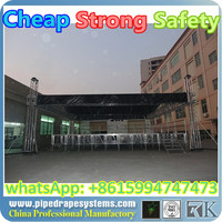 Hot sale Shenzhen factory China Cheap CE,SGS ,TUV cetificited stage truss bolt round roof truss truss calculator