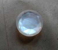 Natural African Rainbow Moonstone Round Normal Cut Loose Gemstone