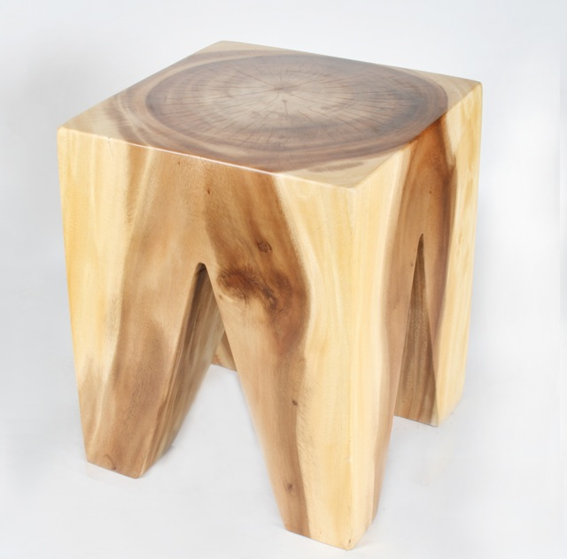 Square Stool Triangle Legs