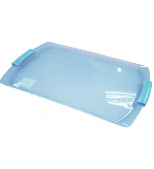 Colorful plastic tray with handle/plastic serving tray with handle #53170000000000