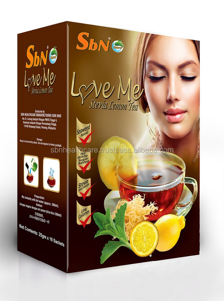 SbN Seaweed Stevia Lemon Tea